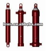 tipper front end hydraulic jack cylinders telescopic