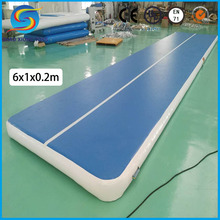 Hot Outdoor Custom Size Water Floating Inflatable Gym Mat, Inflatable Air Track for Sale