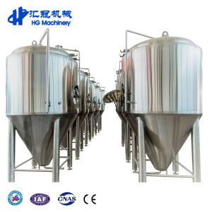 1000L Stainless Steel Double Layer Fermenter With Cooling