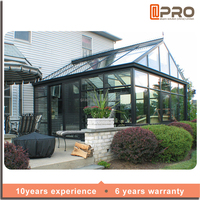 Construction Aluminum Panels Glass Houses Modern Glass Sunroom