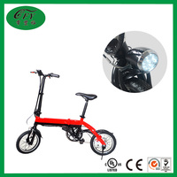 Cheap 14 Inches Folding Electric Li-battery Bike 250W