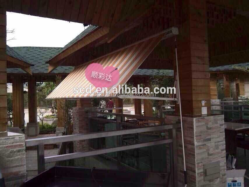 Hot Sale Aluminum retractable outdoor window awnning Canopy wholesale