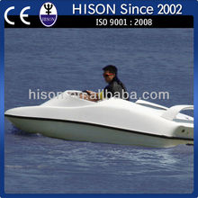 2014 summer CE proved Hison Brand new Personal Jet Boat! gasoline mini yacht!