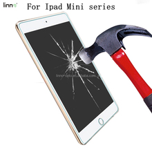 2018 wholesale 9H hardness 2.5D edgeHD Clear Anti scratch tempered glass screen protector perfect fit for iPad Mini