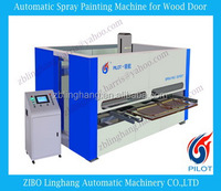 Automatic 5 axis spray finish system for Wood Carved Door