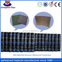 Guangzhou Dayu 2mm/2.5mm/3mm/4mm Sbs Elastomer /Pp Plastomer Modified-Bitumen Waterproof Membrane