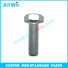 carbon steel bol hex bolts DIN931 DIN933 customized bolt