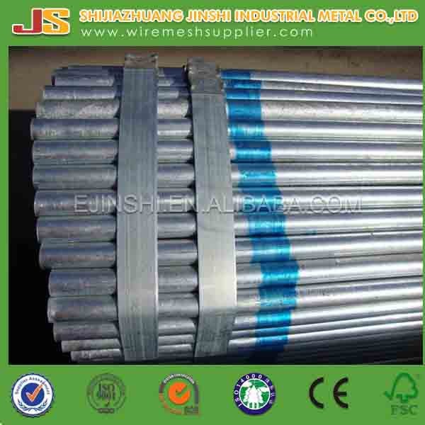 ASTM A53 Galvanized House Building Hollow Section Seamless Steel Pipe