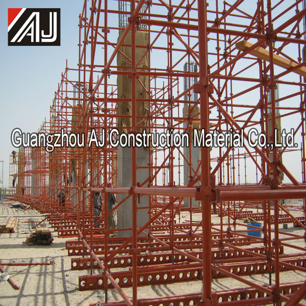 China chian construction metal kwikstage scaffolding system for support building