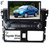 (for Toyota Vios 2014) 2 din 8 inch car dvd player with GPS