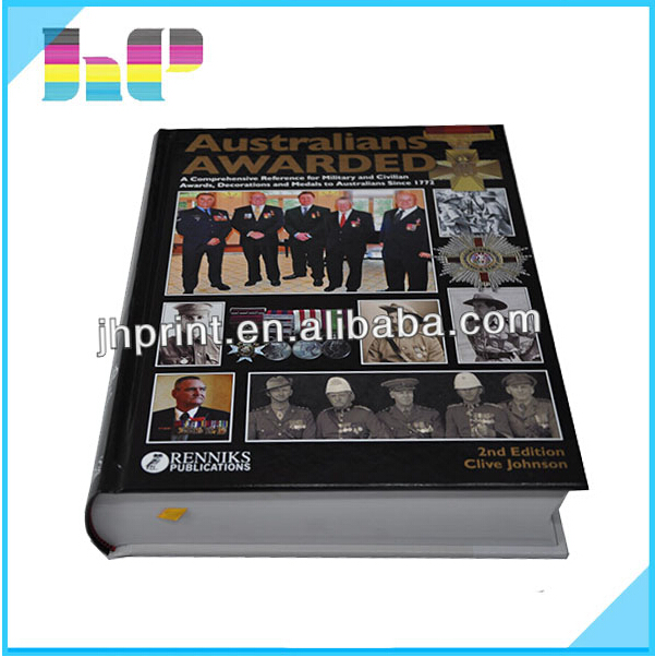 Art Paper Photo Book Printing Soft Cover/Hard Caver Book