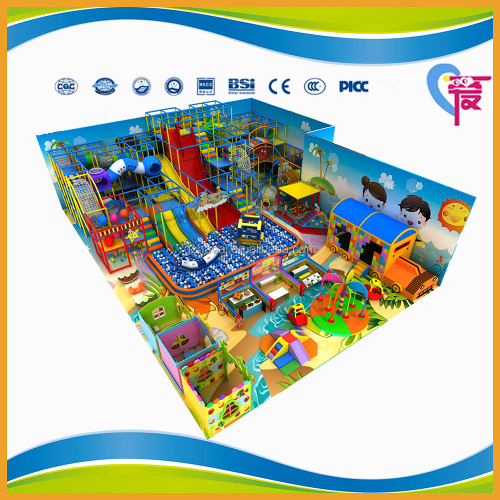 A-15384 Kids Best Choice Soft Playground Indoor Play Ground Equipment