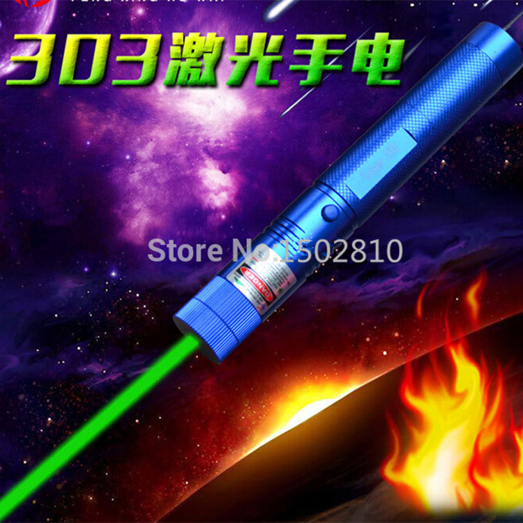Hot! green laser pointers 1000mw 532nm high power lazer burning lasers 303 presenter Burn Matches & Light burn Cigarettes