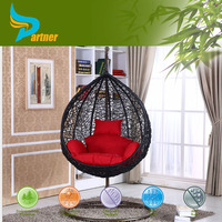 single seat garden swing egg chair cover