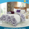 2016 100% polyester luxury bed comforter set for north american comforter quilt with low price wholesale comforter cover