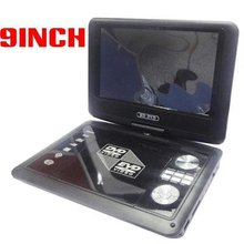 9inch(16 : 9)TFT LCD screen Portable dvd player