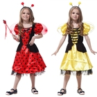 Wholesale polyester fancy Cosplay Animal striped costume for kids