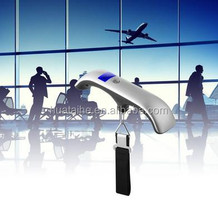 Promotional Mini Printed Logo High Precision 50kg/10g Travel Portable Balance Electronic Weighing Digital Luggage Scale