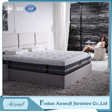 Ultra firm coconut coir china fiber and bonnell spring bedroom hybrid foam mattress