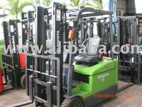Toyota fully reconditioned Imported 3 wheeler battery forklift 7FBE15 in malaysia