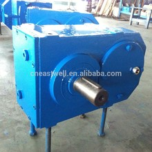 Customized professional multiple spline shaft geared motor 1hp