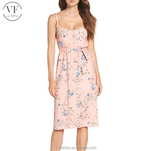 European good quality women casual dresses summer sexy women clothing