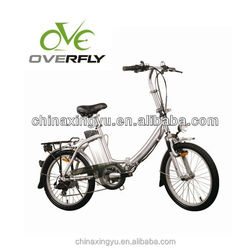 20 inch fashion electric bike folding electric bicycle from zhejiang xingyue vehicle co XY-EB003F