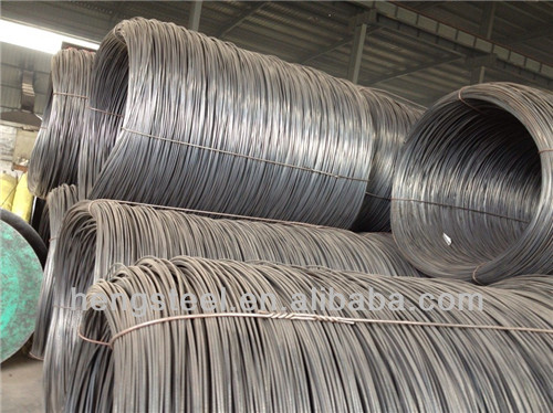 SAE1008B Hot Rolled Steel Wire Rod