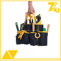 Multifunctional Pockets tote garden tool carry bag