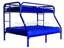 Mordern Steel Double Deck Metal Frame Bunk Bed, High Quality Metal Frame Bedroom Sets