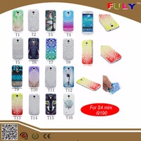 For Samsung I9190 Galaxy S4 MINI TPU Case with Color Painting