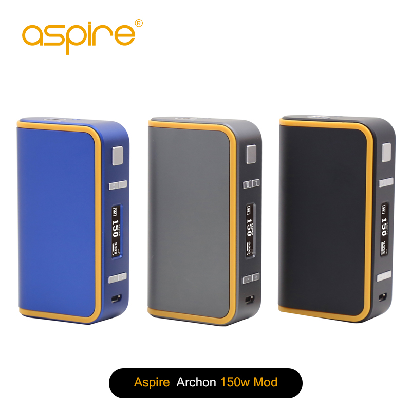 Aspire Newest 150w Box Mod Genuine Aspire Archon 150 Best Deal with cleito 120 tank wholesale