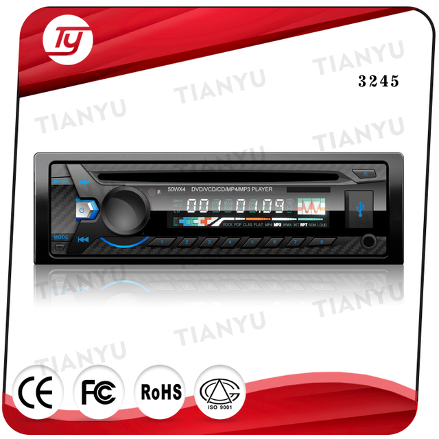 Detachable panel car dvd player audio with AM