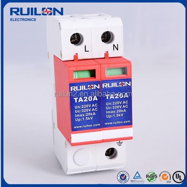 Single Phase Power Surge Protect Device 20kA