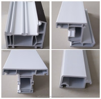 China pvc profile plastic factories not in turkey/construction company real estate building materials