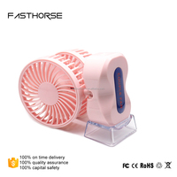 Lastest design rechargeable battery operated mini fan travel use portable mini fan