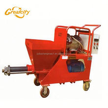220v/380v Screw Type Cement Mortar /Gypsum Putty Plaster Spraying Pump Machine for Wall