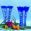 /product-detail/cobalt-blue-cut-to-clear-bohemian-czech-vintage-stock-crystal-church-vase-60100567237.html