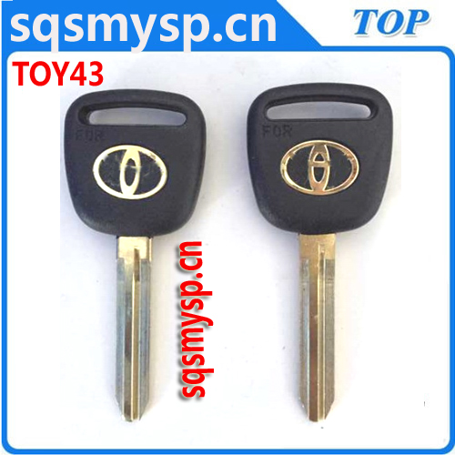 C-070 Custom old Gold classic car key blanks TOY43P TY51P TOYO-15P TY37RP79
