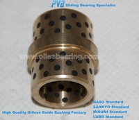 High Quality Cast Br, Mould Standard Parts Cast Bronze Bearing Bushing Manufacturers