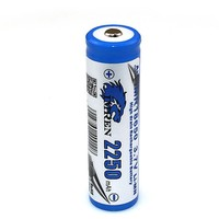 Li-mn battery 18650 2250mah small dry cell battery IMREN18650 2250battery with button top