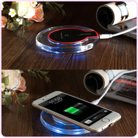 qi universal wireless mobile phone battery charger coil pad for iphone for galaxy s4 mini/ for sony xperia z c6603