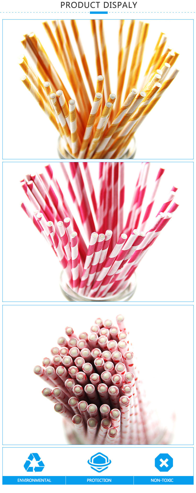 Acceptable Baking Food Grade Diy Cake Pops Lollipop Paper Sticks Baking Tool Stick