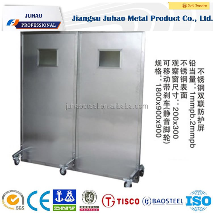 x ray shielding lead glass protective