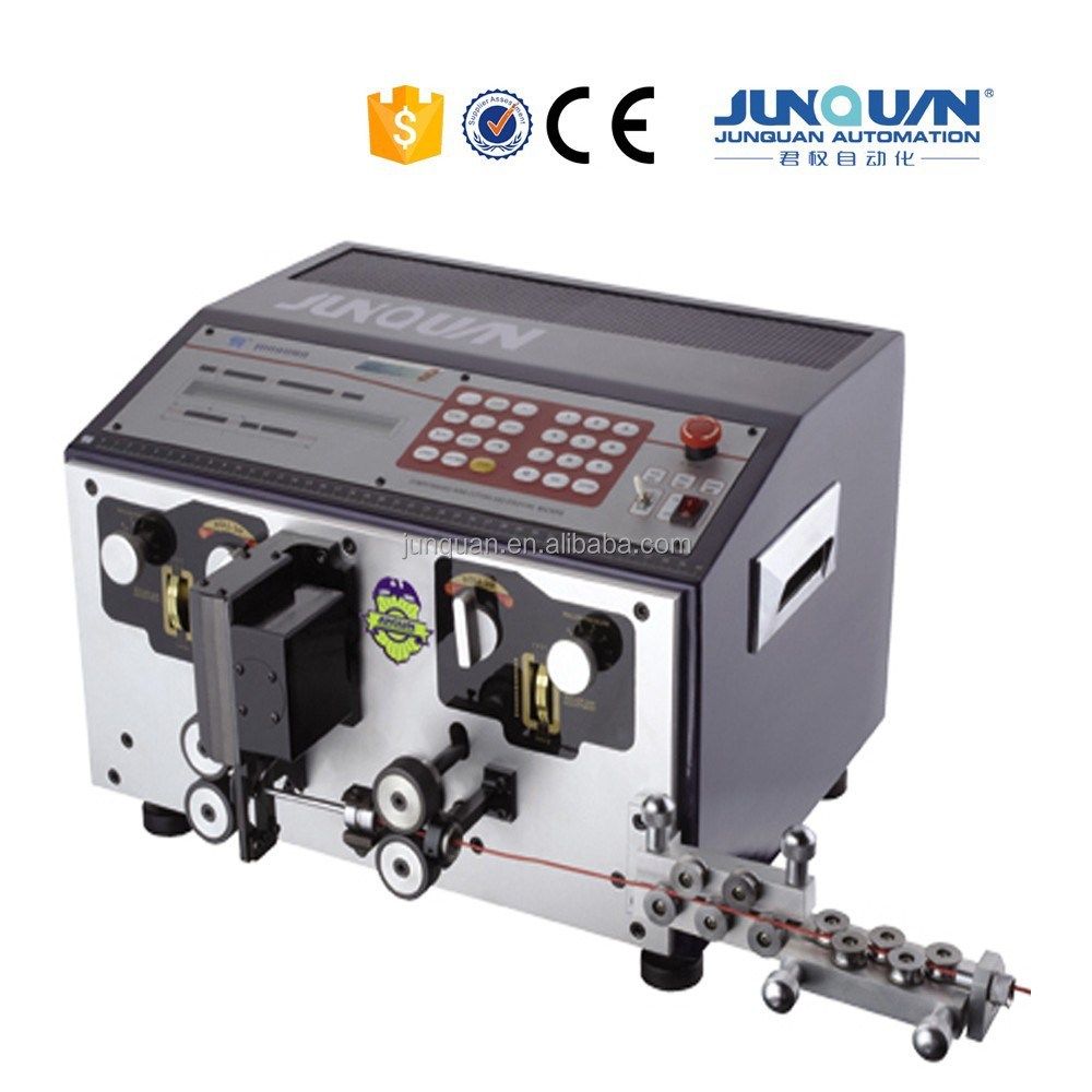 China Best 30years production experience Automatic Wire Cutting Stripping Machine, Cable cutting machine For Awg8-26 ZDBX-8