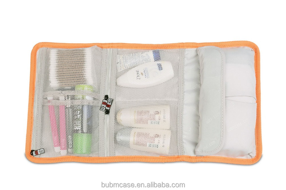 fashion Fall BUBM nylon Travel Folding storage cosmetic bag