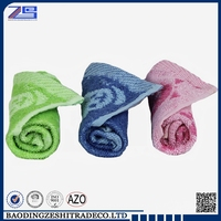 High Quality Plain Yarn Dyed Square Towel Fabric