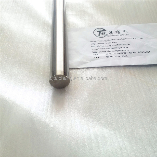 Best 2mm 10mm 12mm 25.4mm titanium metal rod/ Bar manufacturer
