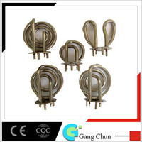 Electrical kettle heating element for boiling water heaters