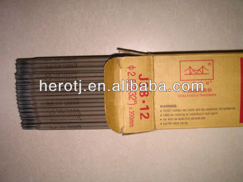 golden bridge welding electrode J38.12(AWS E6013)